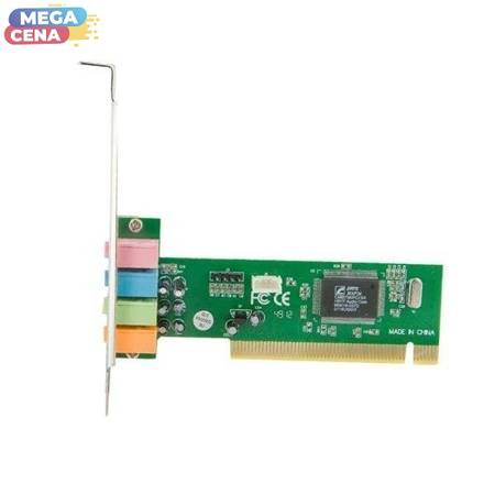 4World Karta dźwiękowa PCI, 4 kanały CMI8738 bez game portu
