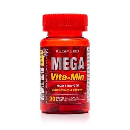 Mega Vita-Min Silnie Działające Witaminy i Minerały 30 Kapletek
