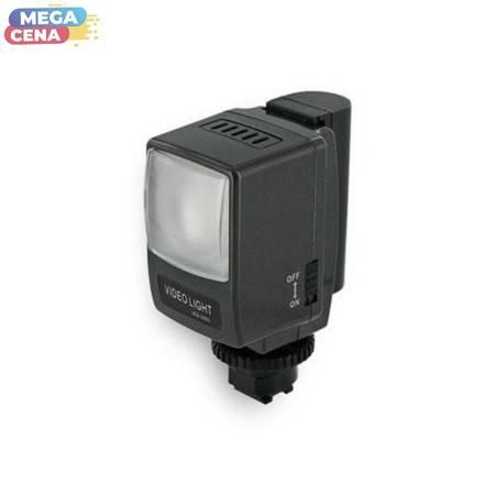 Whitenergy FOTO Zestaw oświetleniowy LED do kamer Sony: reflektor, bateria, ładowarka, 1LED, 3.5