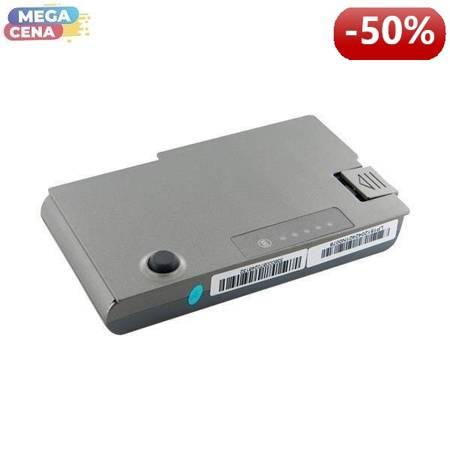 Whitenergy Premium Bateria Dell Latitude D500 11,1V 5200mAh metaliczna szara