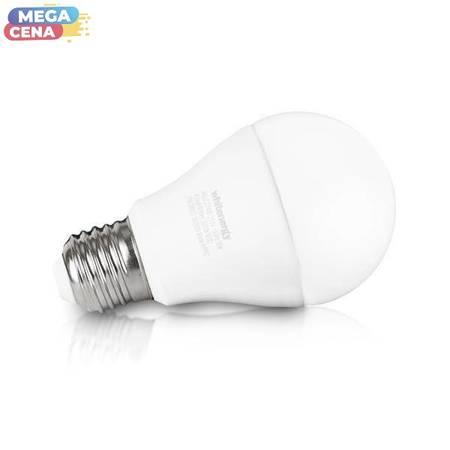 Whitenergy Żarówka LED 10W  E27 A60 806lm SMD2835 ciepła 100-250V  Klasyczna / mleczne