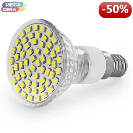 Whitenergy Żarówka LED 3W  E14 MR16 SMD3528 zimna 230V Halogen / szybka