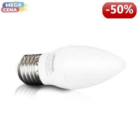 Whitenergy Żarówka LED 3W  E27 C30 210lm SMD2835 ciepła 100-250V  Świeczka / mleczne