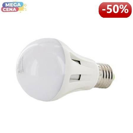 Whitenergy Żarówka LED 8W  E27 A60 SMD5630 ciepła 230V Klasyczna / mleczne