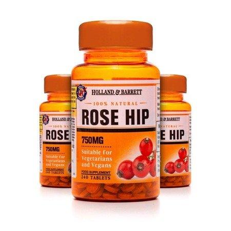 Zestaw 2+1 (Gratis) Dzika Róża 750 mg 240 Tabletek