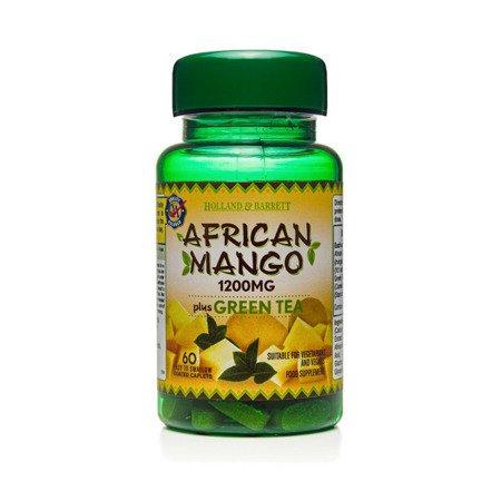 Zestaw Suplementów 2+1 (Gratis) Afrykańskie Mango z Zieloną Herbatą 1200 mg 60 Kapletek