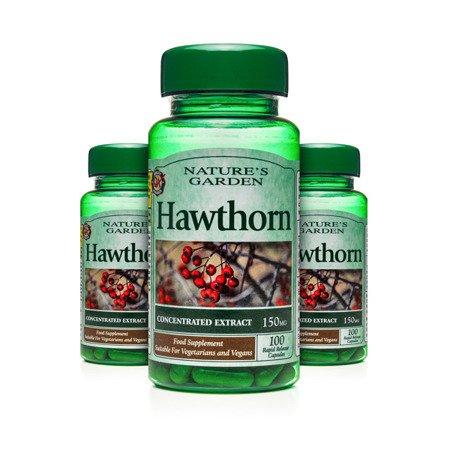 Zestaw Suplementów 2+1 (Gratis) Głóg 150 mg 100 Kapsułek