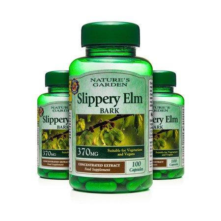 Zestaw Suplementów 2+1 (Gratis) Kora Wiązu Czerwonego 370 mg 100 Kapsułek