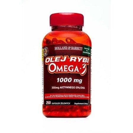 Zestaw Suplementów 2+1 (Gratis) Olej Rybi Omega-3 dla Pescowegetarian 1000mg 250 Kapsułek Żelowych
