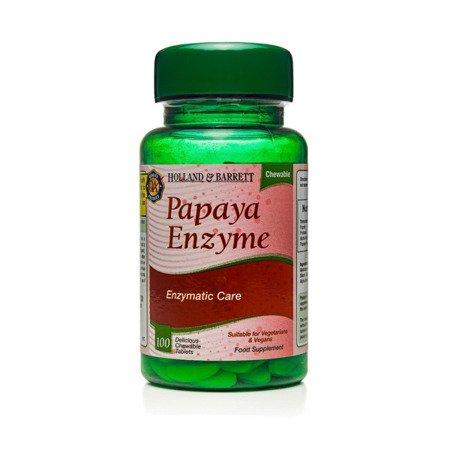 Zestaw Suplementów 2+1 (Gratis) Papaina 100 Tabletek do Żucia