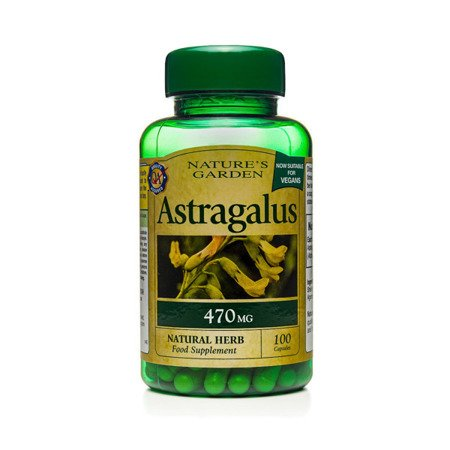 Zestaw Suplementów 2+1 (Gratis) Traganek 470 mg Produkt Wegański 100 Kapsułek