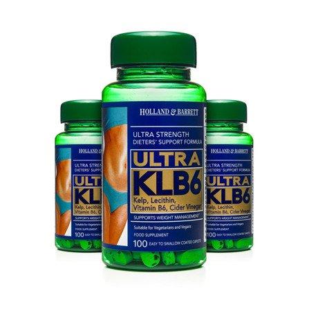 Zestaw Suplementów 2+1 (Gratis) Ultra KLB6 100 Kapletek