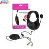 4World Multimedialne słuchawki z mikrofonem duże 3m