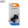 HUB USB 4World 4 porty Czarny